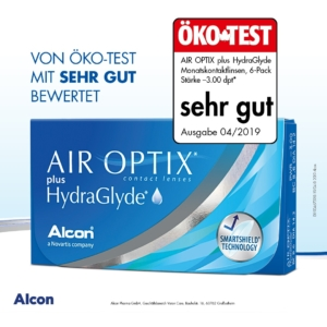 AIR OPTIX® plus HydraGlyde® 6er Pack
