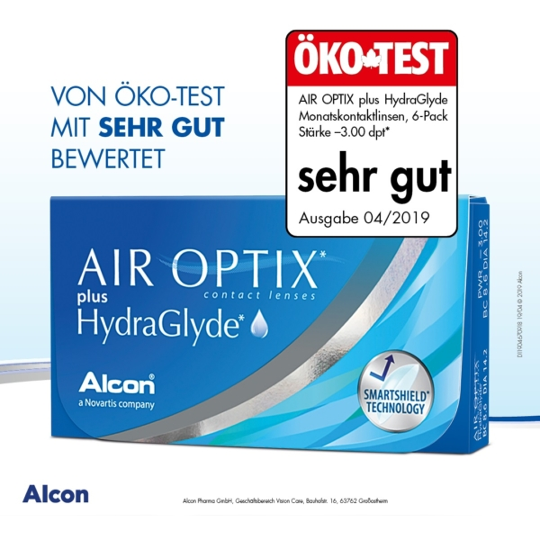 AIR OPTIX® plus HydraGlyde® 6er Pack